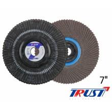 """[트러스트] 디스크플랩휠 (7""""x22mm)"""