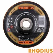 """[로디우스] 연마석 (4""""x7.0TxΦ16) RS36 #24"""