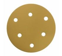 흡진사포-종이(VELCRO DISC) 5인치 6홀 흡진빼빠(SAND)