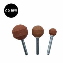 볼형 갈색 추지석(¢6)